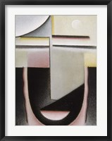 Framed Abstract Head: Dawn, 1928