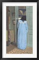 Framed Woman in Blue Searching a Cabinet, 1903