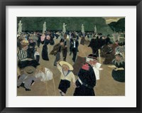 Framed Jardin du Luxembourg, 1895
