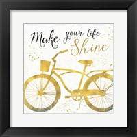 Golden Ride II Framed Print