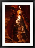 Framed Shaft of Light, Upper Antelope Canyon 2