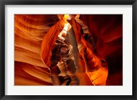 Framed Slot Canyon, Upper Antelope Canyon, Page, Arizona