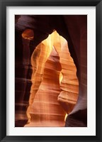 Framed Colorful Sandstone in Antelope Canyon, near Page, Arizona