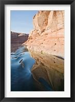 Framed Glen Canyon, Lake Powell, Antelope Canyon