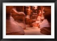Framed Upper Antelope Canyon