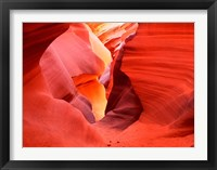 Framed Glowing Sandstone Walls, Lower Antelope Canyon
