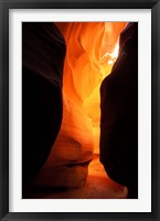 Framed Antelope Canyon Silhouettes