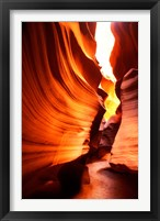 Framed Antelope Canyon Silhouettes in Page, Arizona