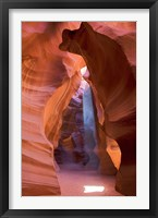 Framed Antelope Canyon, Navajo Tribal Park I
