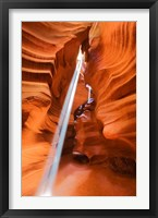 Framed Antelope Canyon, Navajo Tribal Park II