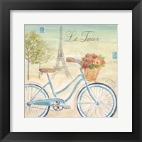 Paris Bike Tour I Framed Print