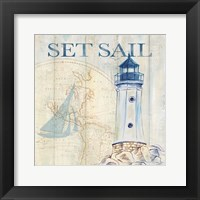 Sail Away I Framed Print