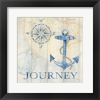Sail Away III Framed Print