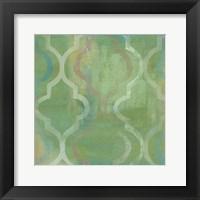Quatrefoil II Framed Print