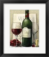 Framed Valley Wine I