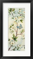 Cherry Bloom Panel II Framed Print