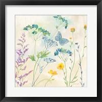 Wildflower Garden I Framed Print
