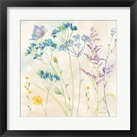 Wildflower Garden II Framed Print