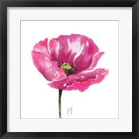 Poppies Tempo I Framed Print