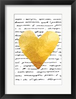 Framed Love Letter