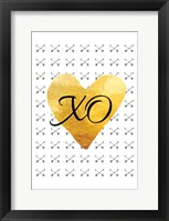Framed XO