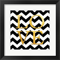 Love (Square) Framed Print