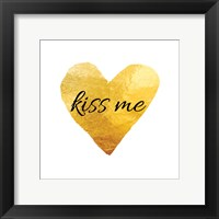Framed Kiss Me (Square)