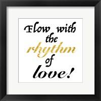 Framed Rhythm of Love