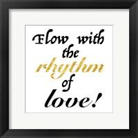 Rhythm of Love Framed Print