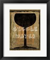Framed Giggle Water