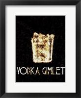 Vintage Vodka Framed Print