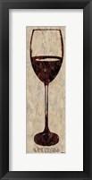 Framed Wine Glass 5