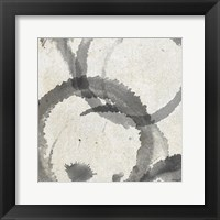 Framed Square Coffee Stains 3