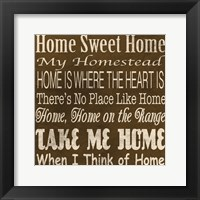 Framed Home Sweet Home 2