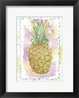 Framed Pinapple Paradise