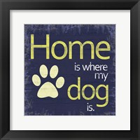 Framed Dogs Home