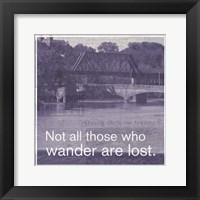 Framed Wanderlust 4
