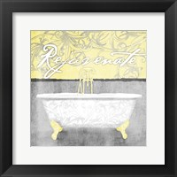 Framed Yellow Rejuvenate
