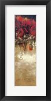Framed Blazing Wood 2