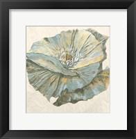 Framed Sapphire Bloom 1