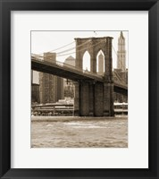 Framed Brooklyn Bridge 47 I