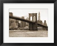 Brooklyn Bridge 47 II Framed Print