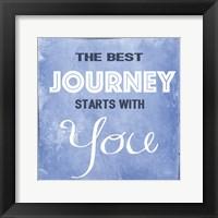 Framed Best Journey