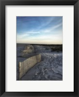 Framed Sand Fence With Border