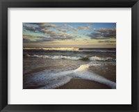 Framed Lines And Waves With Border
