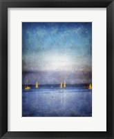 Framed Painted Sailboats