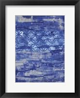 Framed Abstract Ocean