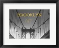 Framed Bkln Brg