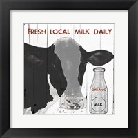 Framed Fresh Local Milk