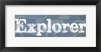 Explorer I Framed Print
